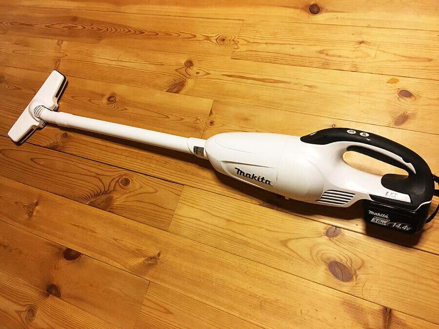 マキタ充電式掃除機