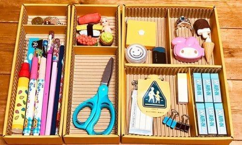 子供 机の上の整理