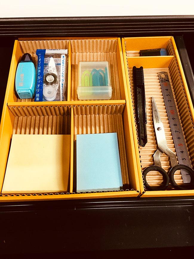 アスクル整理ボックス 机収納