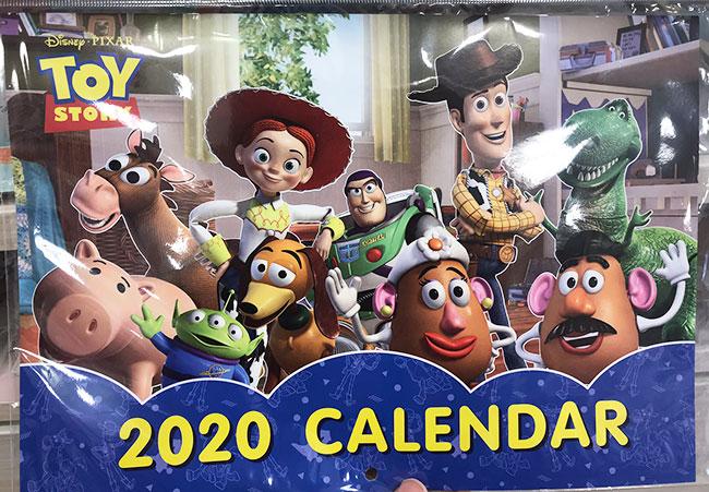 トイストーリーカレンダー