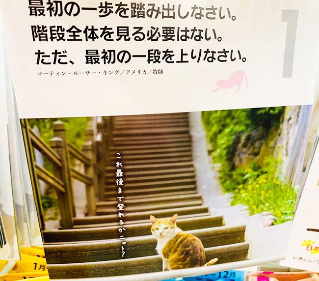 動物壁掛けカレンダー