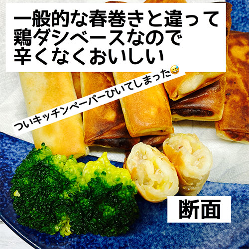 業務スーパー お肉たっぷり春巻